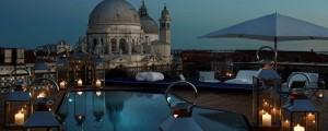 gritti palace rooftop pool